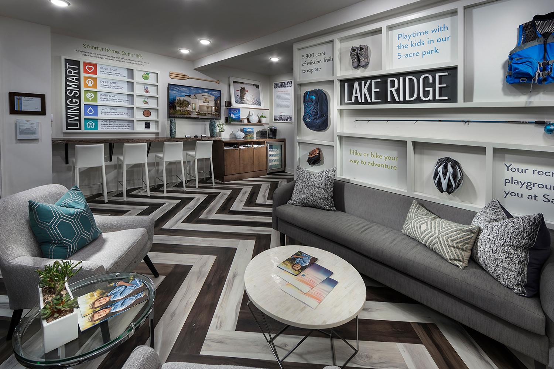 Lakeridge Sales Office Interior Design