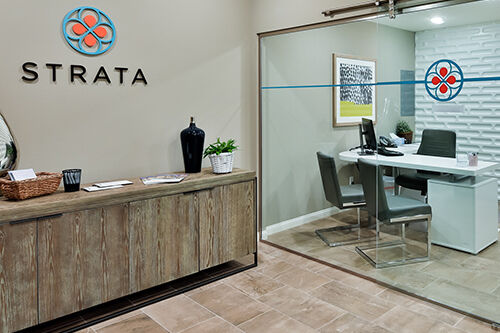 Strata Sales Office interior design thumb