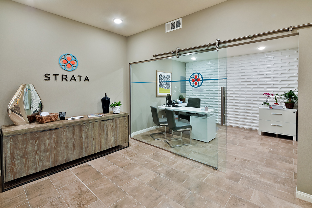 Strata Sales Office - Interior Design