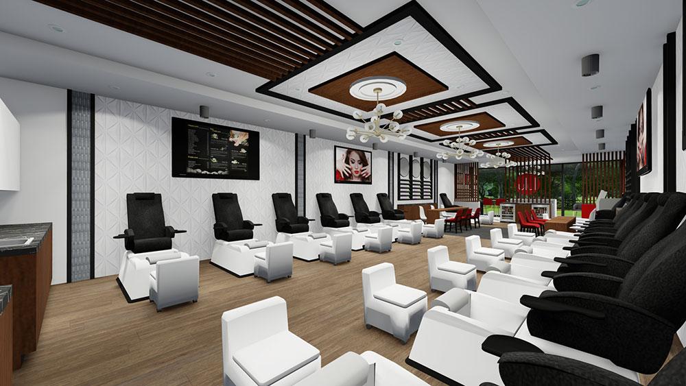 Lulu Nails Interior Design